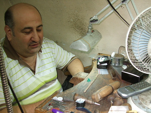 Jewelry Craftsman in Istanbul's Grand Bazaar