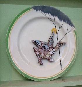 Flying Duck plate