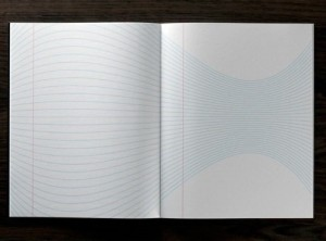 crazily lined notebook inspires creativity