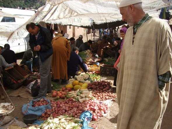 Berber market High Atlas